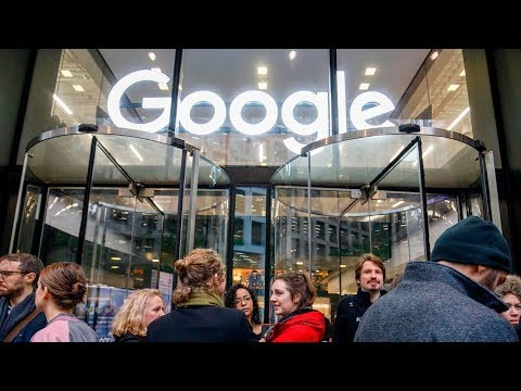 Google employees walk out to protest alleged sexism, inequality