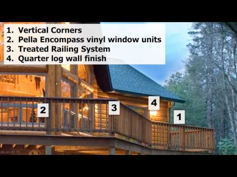 Webinar on building a new log cabin and timber frame home ideas facts info. advice examples
