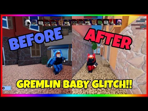 Patched How To Do The Gremlin Baby Glitch Roblox Arsenal Youtube
