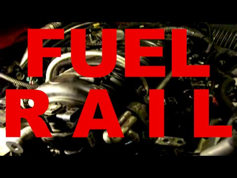 car FUEL RAIL removal and replacement - fuel injectors rail - GM 3800 v6 engines Buick Chevy Pontiac