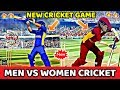 New Cricket Game | Boys Vs Girls Cricket Game | 40mb Only