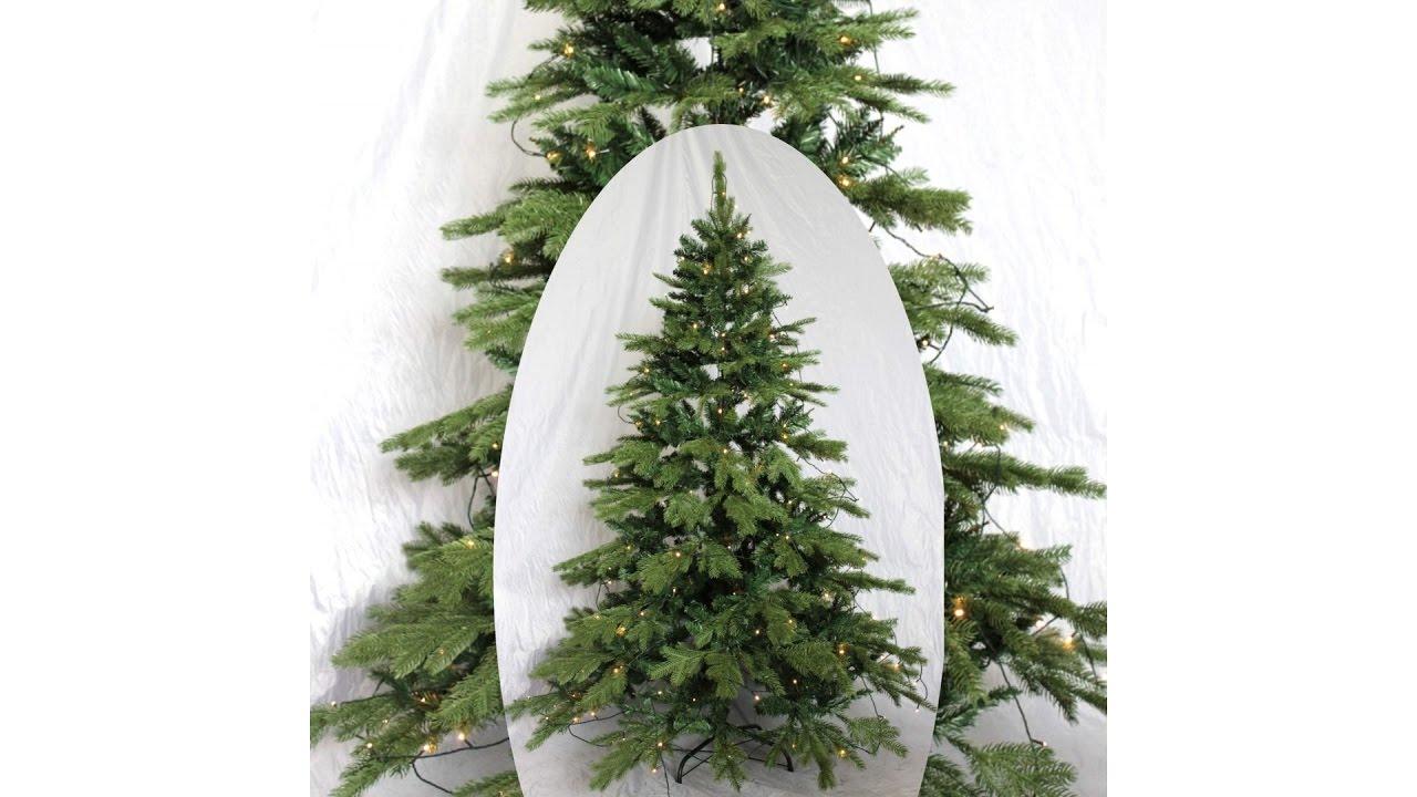 Künstlicher Weihnachtsbaum Mit Licht.Künstlicher Weihnachtsbaum Mit Beleuchtung Im Zeitraffer Aufbau