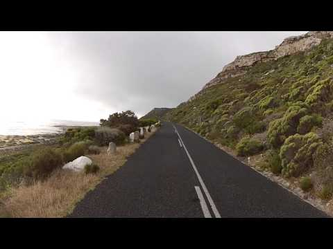 Driving around Cape Town - M65 to Kommetjie
