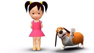 Английский язык для малышей: Мяу-Мяу - Vacation, goodbye! - Мультик 12