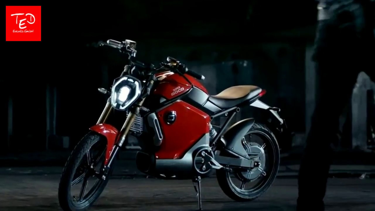 super soco e moped by ted mobility hd youtube. Black Bedroom Furniture Sets. Home Design Ideas