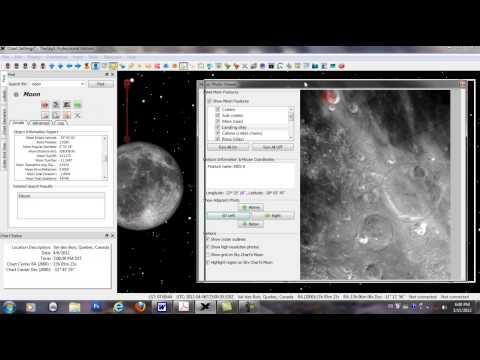 Revue generale du logiciel THE SKY X PRO partie7