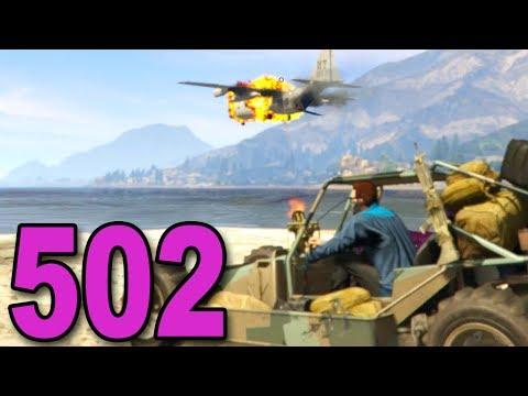 Grand Theft Auto 5 Multiplayer - Part 502 - Gunrunning DLC Mission #1