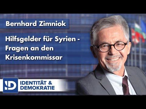 Bernhard Zimniok | Fragen zu den Hilfsgeldern für Syrien