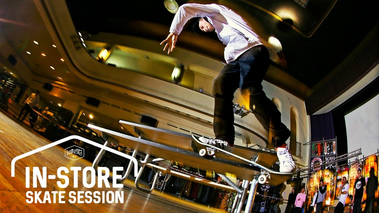880137daabfe4b Titus Münster In-Store Skate Session - YouTube
