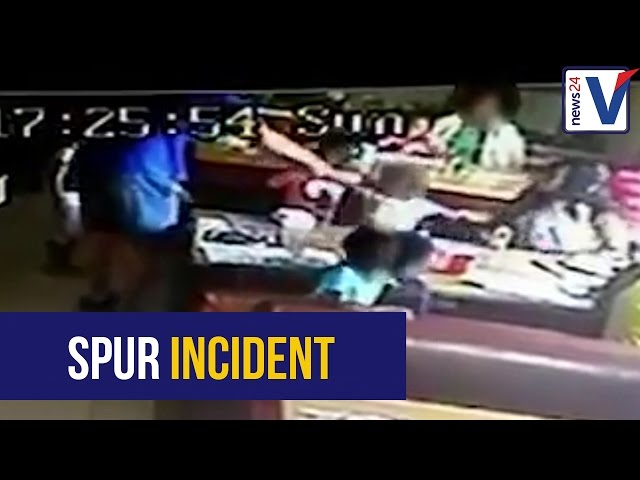 WATCH: Spur releases CCTV footage of altercation