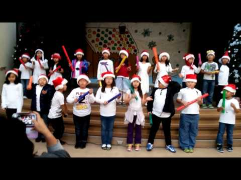 Jingle Bells Boomwhackers by my 3rd graders!!!!