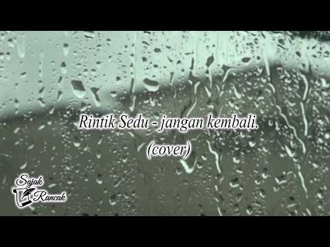 Puisi Rintik Sedu -  jangan kembali. (cover)