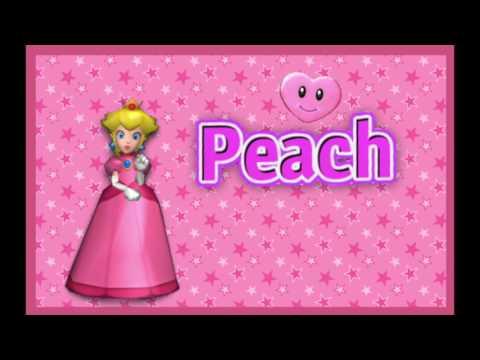 Mario Kart Double Dash [Peach] Voice