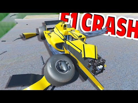 Disassembly 3D - F1 RACE CAR CRASH