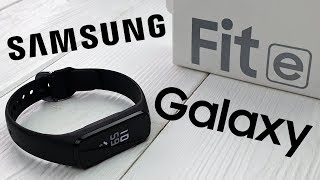 Galaxy Fit e: что умеет дешевый браслет от Samsung?