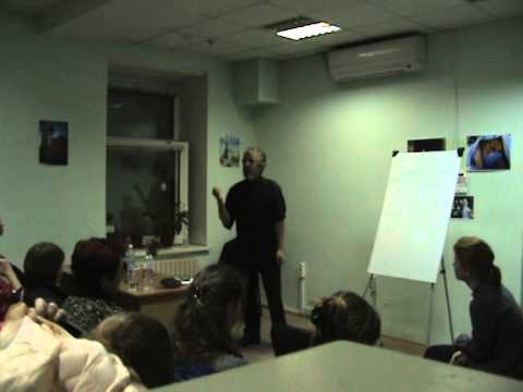 PTSD Therapy Lectures in Dnipropetrovsk Ukraine March 2015 Part 29