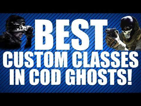COD Ghosts: BEST Custom Class Tutorial!