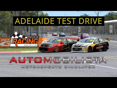 Automobilista Super V8 at Adelaide Test Drive