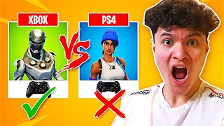 This is Why Xbox is Better than PS4 Fortnite (XBOX vs PS4)