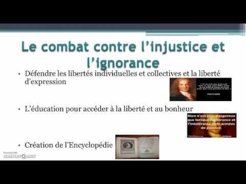 Les philosophes des Lumières et le combat contre l'injustice