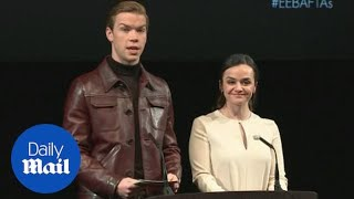 Hayley Squires and Will Poulter announce 2019 BAFTA nominations