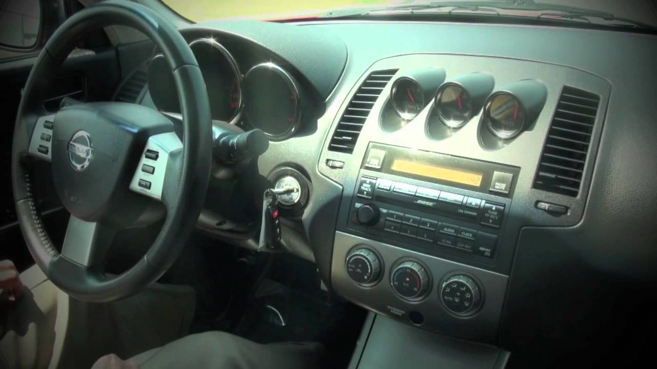 2005 nissan altima se-r - youtube