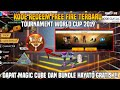 BURUAN !!! KODE REDEEM TOURNAMENT WORLD CUP 2019 FREE FIRE!