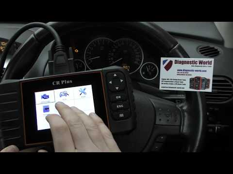 Vauxhall P0100 Fault Code Diagnose & Reset With ICarsoft CR Plus Check Engine FIX