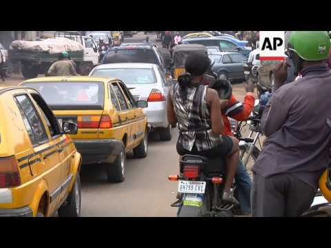 Moves to reduce traffic chaos in Nigeria's largest city