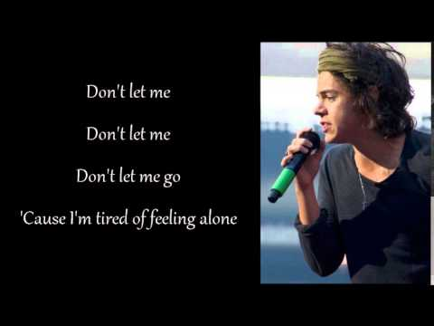 Don't let me go - Harry Styles (Lyrics)