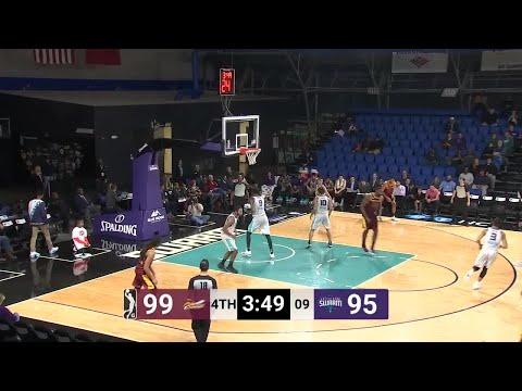London Perrantes (27 points) Game Highlights vs. Greensboro Swarm
