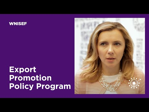 WNISEF: Export Promotion Policy Program