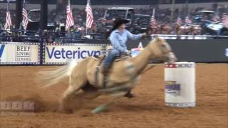 Hailey Kinsel on Sister American 2017 Round 1