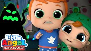 Bayi Kecil Imut Takut Dengan Monster Besar | Lagu Anak-anak | Little Angel Bahasa Indonesia