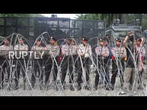 Indonesia: Protests hit Jakarta's streets after governor Ahok jailed for blasphemy