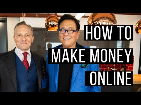 How To Make Money Online - Brian Rose and Robert Kiyosaki [The Rich Dad Radio Show]