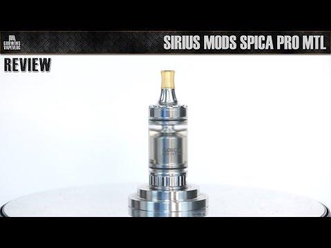 HIGH End Atomizer - Sirius Mods Spica PRO MTL RTA - Recenze (CZ)