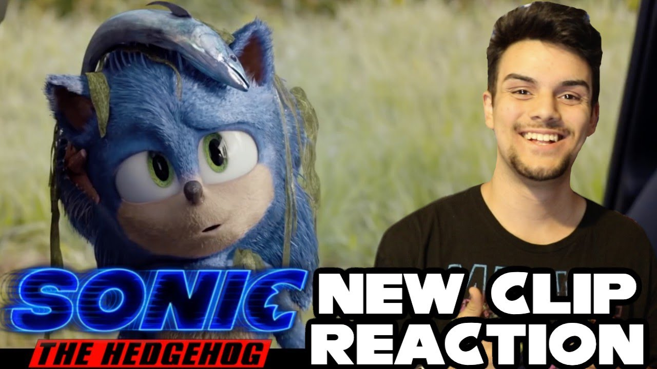 New Sonic The Hedgehog Movie (2020) Clip - Can't Do This On My Own (Reaction)