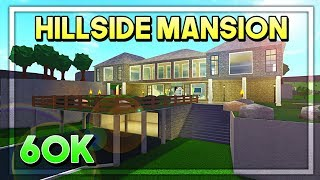 ROBLOX | Bloxburg: 60k Hillside Mansion Build (Speedbuild)