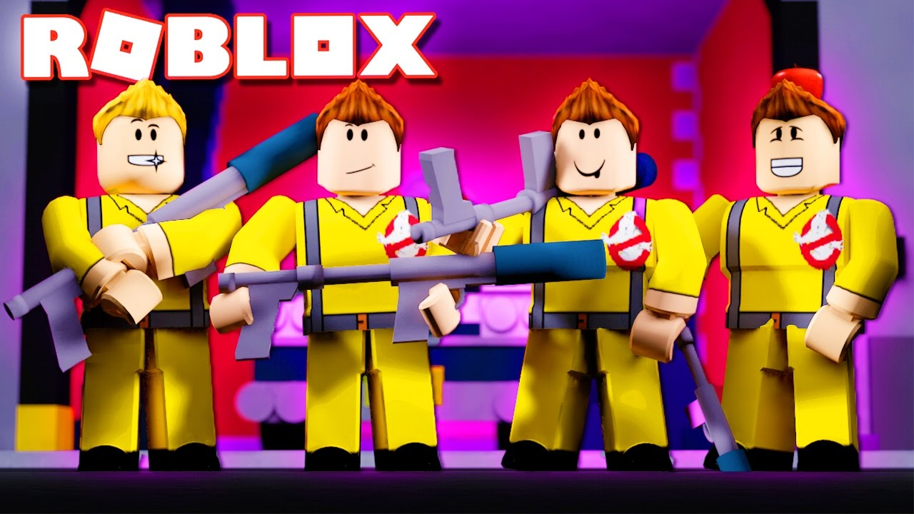 Roblox Adventures Ghost Busters In Roblox Ghost Hunters Youtube