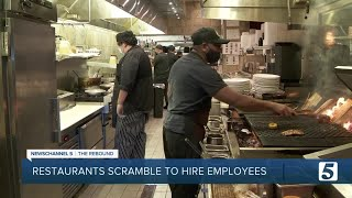 Brentwood restaurant offers incentives to attract new employees