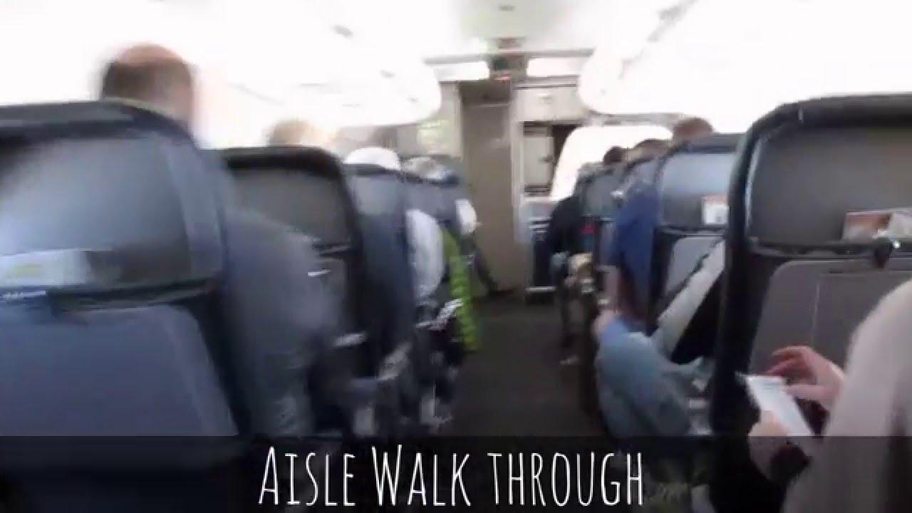 Allegiant Airbus A320 Cabin Tour