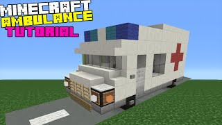 Minecraft Tutorial: How To Make An Ambulance