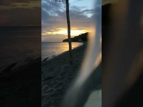 Time lapse beach vibe . Shiggity shack. St.kitts.