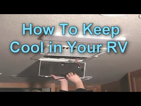 How To Stay Cool in your RV this Summer