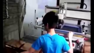 Flat Screen Printing Machine, Plane Screen Printing Machine