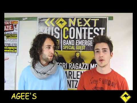 NEXT MUSIC CONTEST - AGEE'S