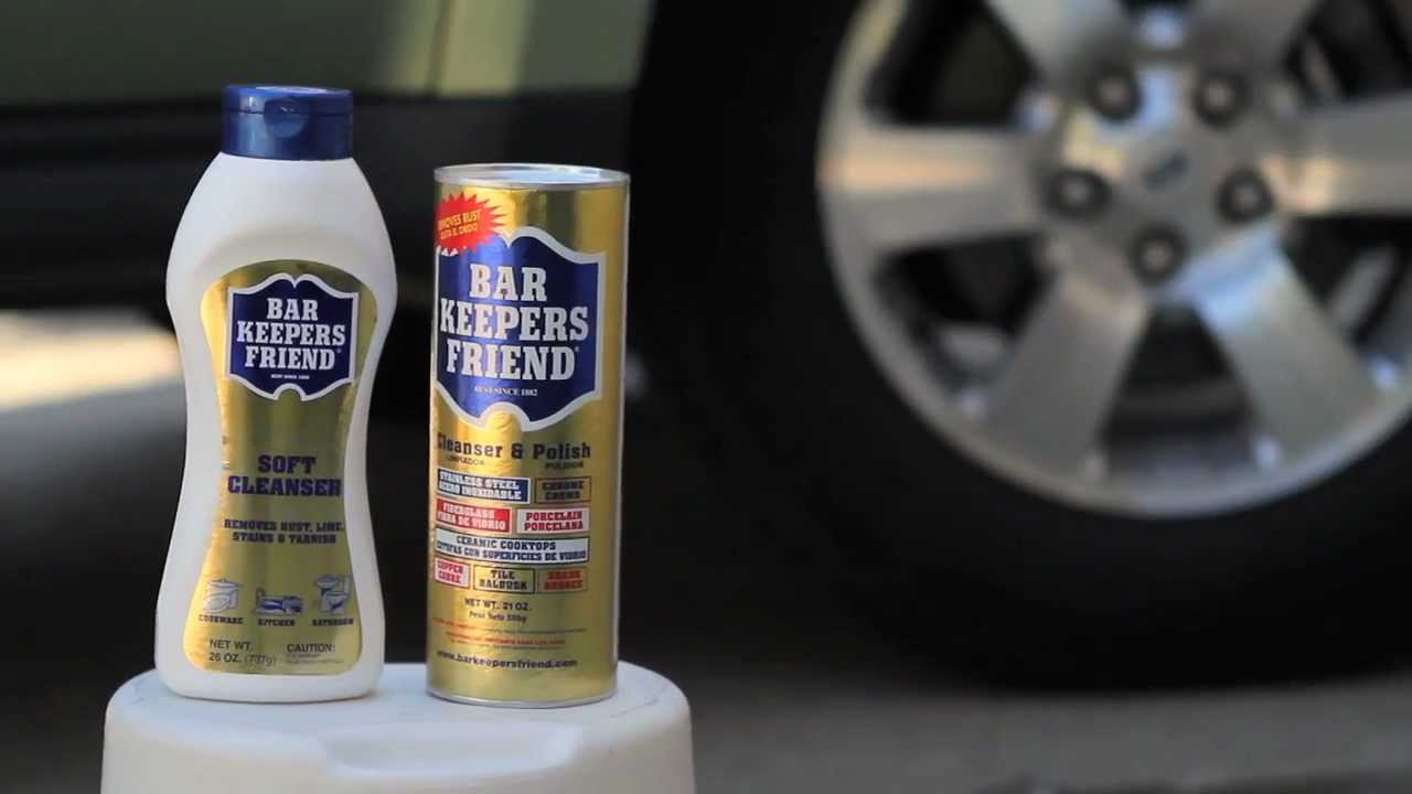 Bar Keepers Friend Cleansers - YouTube