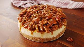 How to Make Pecan Pie Cheesecake  Recipe  Delish