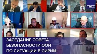 Заседание Совета Безопасности ООН по ситуации в Сирии